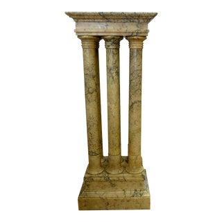 Italian Marble Columns Pedestal
