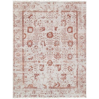 "Pasargad Transitiona Silk & Wool Rug - 9' 1"" X 12' 1"""