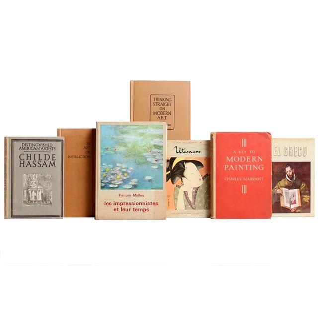 Red & Tan Art Mini Books - S/26 - Image 3 of 4
