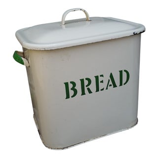 Art Deco English Bread Bin
