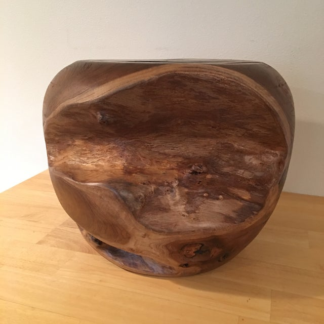 Teak Root Wood Accent Side Table Base - Image 5 of 6
