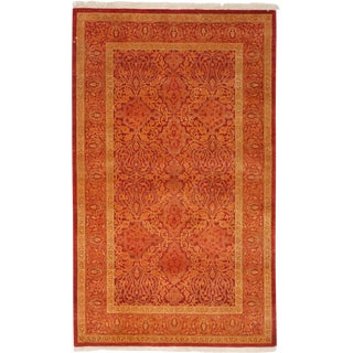 """New Traditional Hand Knotted Area Rug - 3'2"""" x 5'2"""""""
