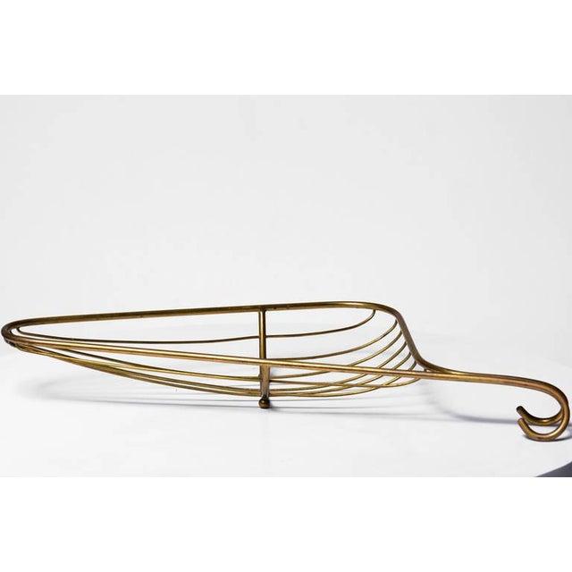 Barware Italian Brass Basket - Image 4 of 7