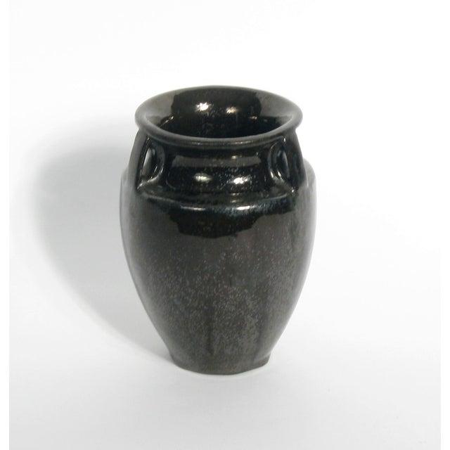Image of Vintage Fulper Black Vase