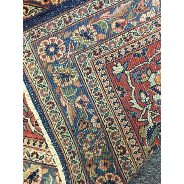 "Vintage Turkish Wool Rug - 8'10"" x 12'5"" - Image 6 of 6"