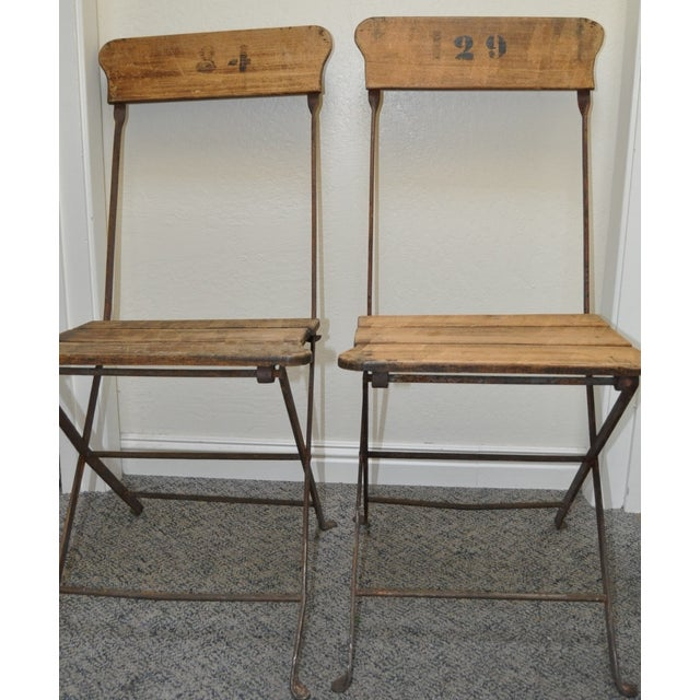 French Campaign/Garden Chairs C.1890's - Pair - Image 3 of 6