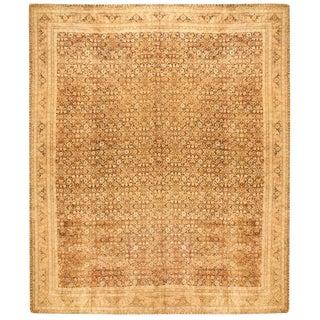 Antique Oversize 19th Century Indian Carpet