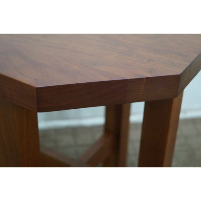 Image of Stickley Mission Style Cherry Side Table (A)
