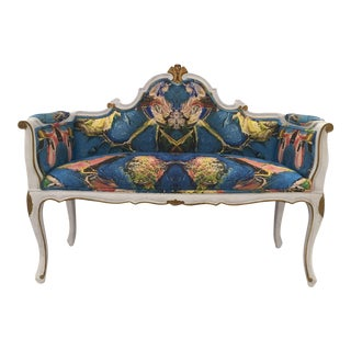 Antique French Louis XV Style Restored Settee