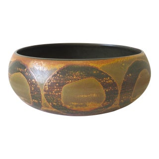 Mid-Century Abstract Ceramic Planter/Bowl