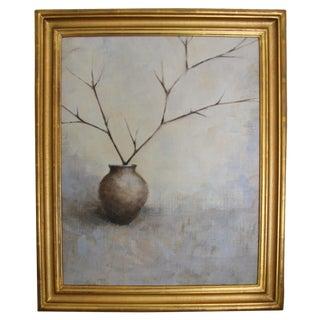 Oil On Canvas Still Life - Limbs