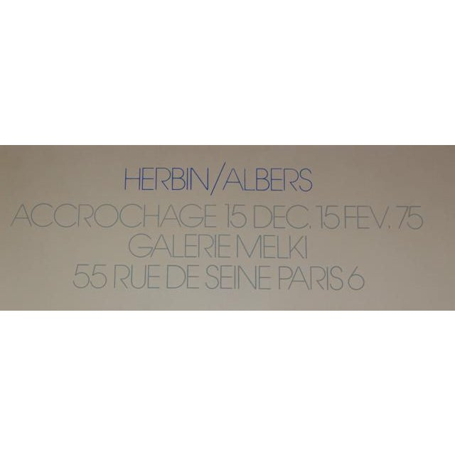 Albers French Exhibition Poster - Image 4 of 4