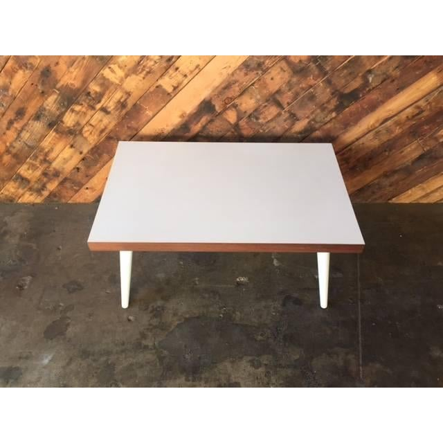 Mid-Century White Coffee Table - Image 3 of 7