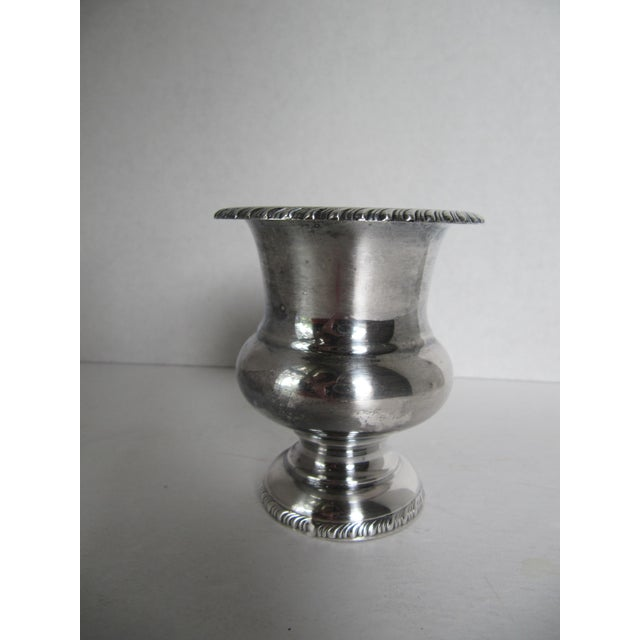 Silver-Plated Urn - Image 3 of 5