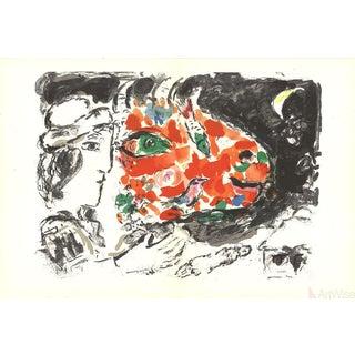 Marc Chagall Derriere Le Miroir, No.198, Pg 14,15-1972 Lithograph