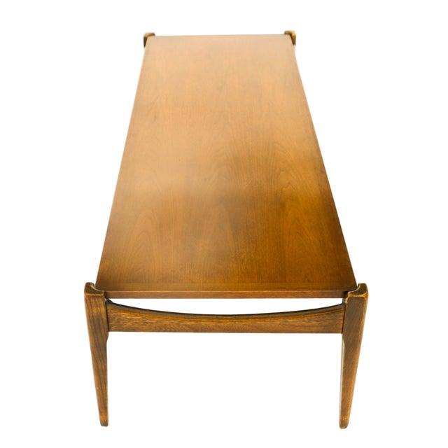 Bassett Mid-Century Modern Coffee Table - Image 9 of 10
