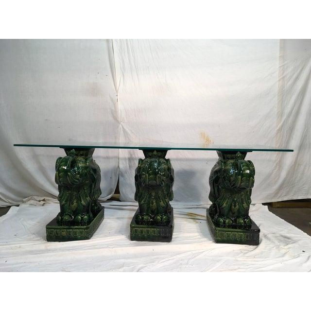 Elephant Garden Seat Coffee Table - Image 2 of 11