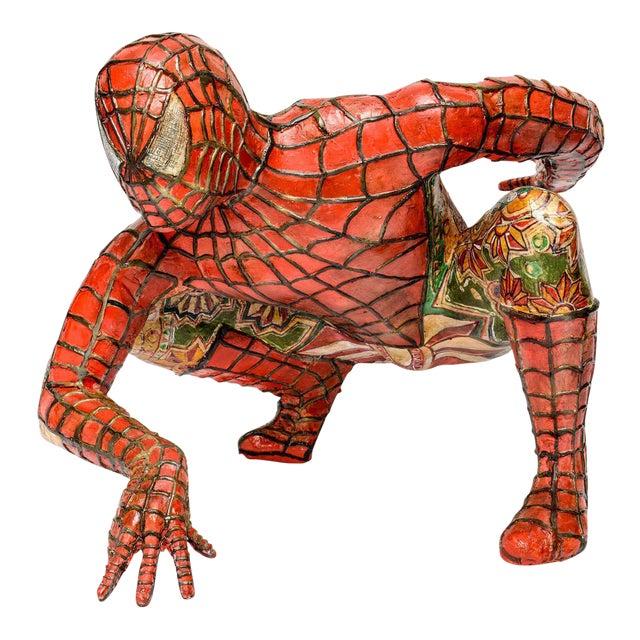 Domenico Pellegrino Spiderman Sculpture - Image 1 of 10