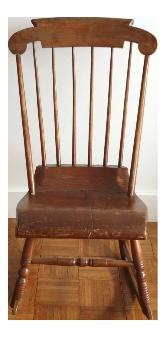 Antique Primitive Rocking Chair