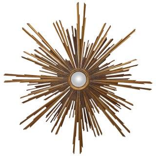 19th Century Giltwood Italian Sunburst Mirror