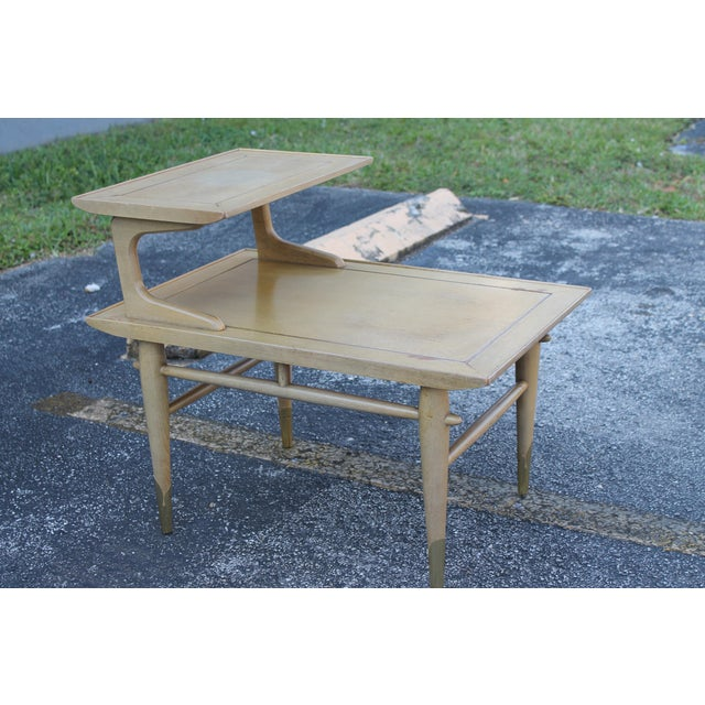 1950s Mid-Century End Table By Lane Furniture