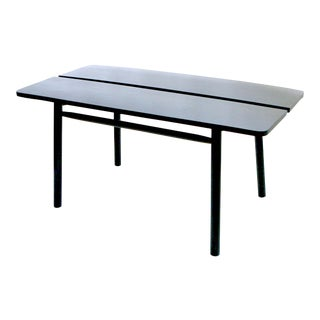 Ebonized Dining Table by Pierre Gautier-Delaye
