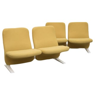"Pierre Pauline F780 ""Concorde"" Chair Benches by Artifort"