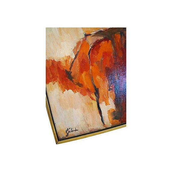 Abstract Painting by Gaboda, Signed - Image 4 of 4