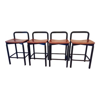Metropolitan Furniture Modern Counter Stools- Set of 4