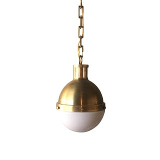 Visual Comfort  Hicks Brass Pendant Light