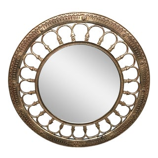 Ren Will Inc. Round Gilt Mirror