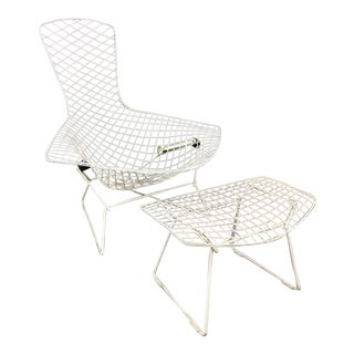 Harry Bertoia for Knoll Bird Chair and Ottoman