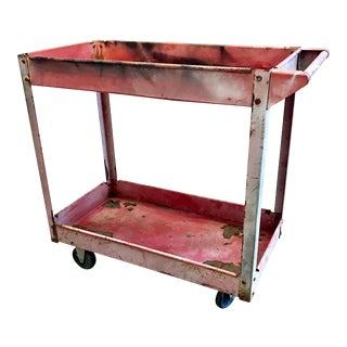 Vintage Industrial Utility Cart