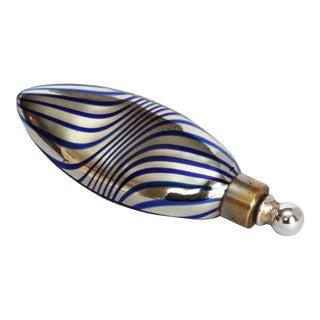 German Art Deco Mercury Glass Lay Down Perfumer