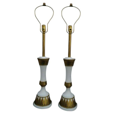 1960s Modern Stiffel Table Lamps - A Pair - Image 1 of 8