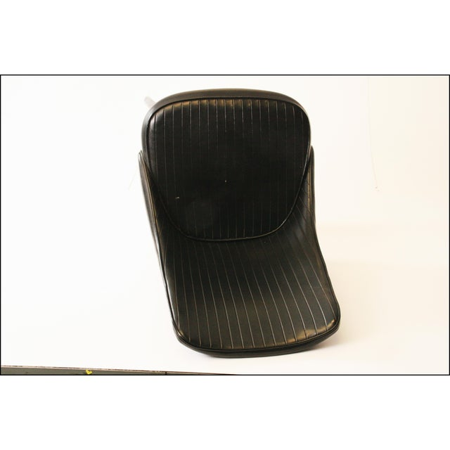 Chromcraft Mid-Century Black Swivel Dining Chair - Image 6 of 11