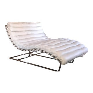 Restoration Hardware Oviedo Leather Double Chaise