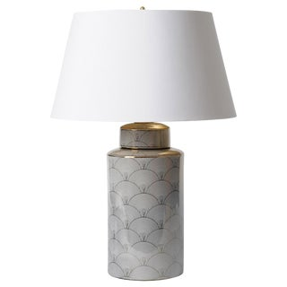Barbara Cosgrove Deco Gold Table Lamp