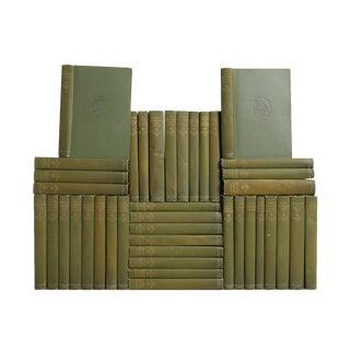 Antique Green Books: Pocket-Sized Balzac Library, S/40