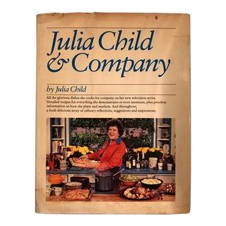 Julia Child & Company Signed Cookbook