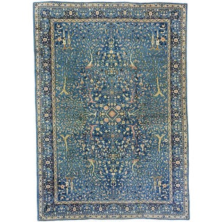 "Antique Amritsar Carpet - 14'10"" x 10'6"""