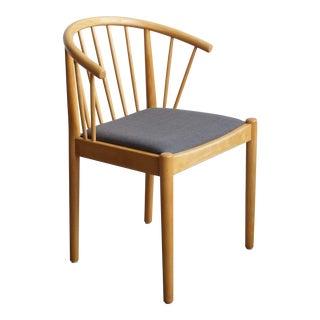 Danish Beech Arm Chair - Design Finn Østergaard - Lindebjerg