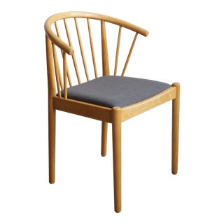 Danish Beech Arm Chair - Design Finn Østergaard - Lindebjerg