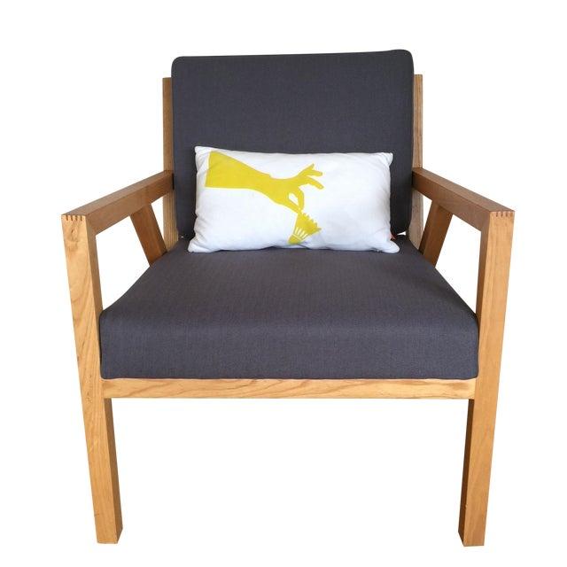 Gus Modern Truss Chair - Image 1 of 5