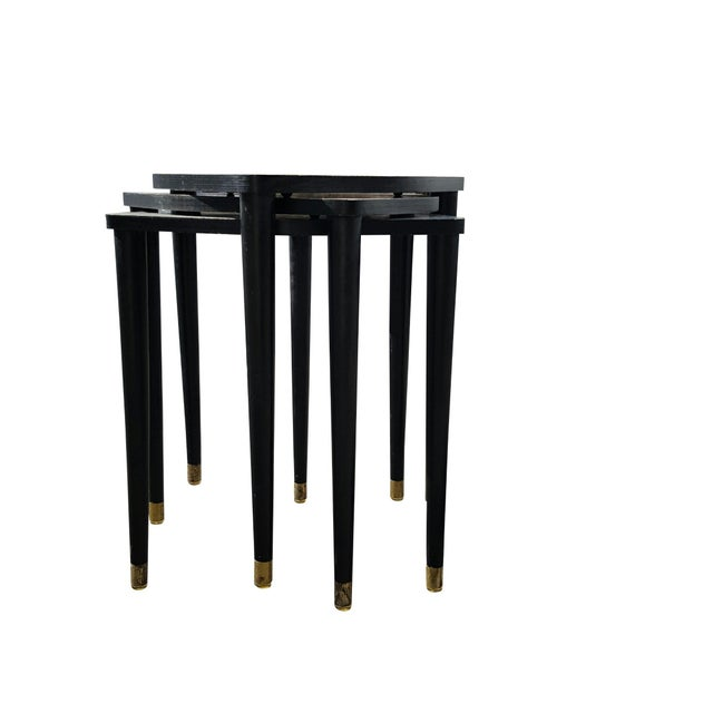 Image of Mid Century Modern Butterfly Nesting Tables - 3