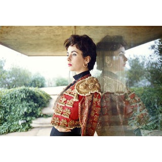 Sanford Roth 1956 Photo of Elizabeth Taylor at Home