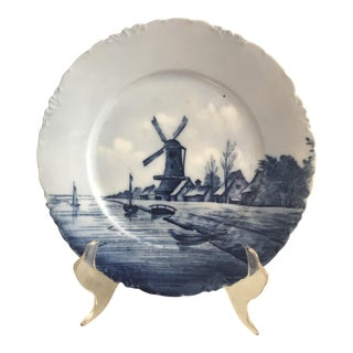 Rosenthal Germany China Blue Delft Plate