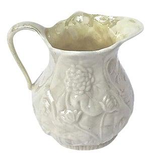 Antique Porcelain Floral Creamer