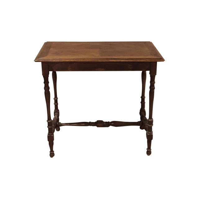 Antique 1880s Directoire Table with Carved Legs - Image 1 of 6