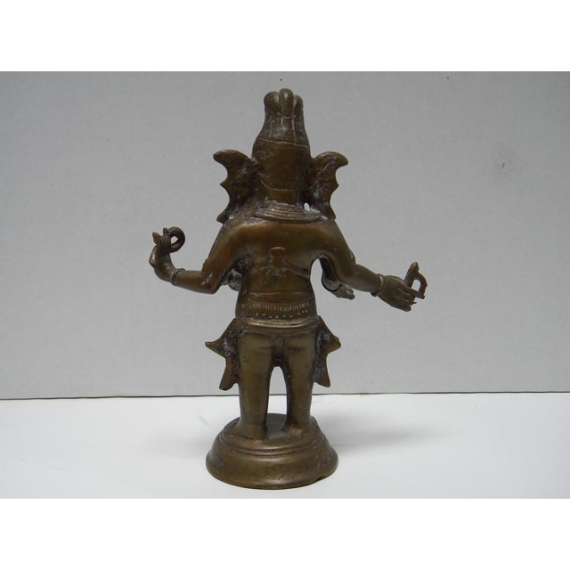 Vintage Bronze Ganesha Figure - Image 5 of 7